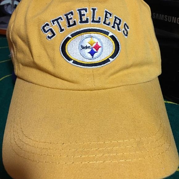 Pittsburgh Steelers NFL Baseball Cap Hat. M 5a39ce9dd39ca238a402b195 7e239a350